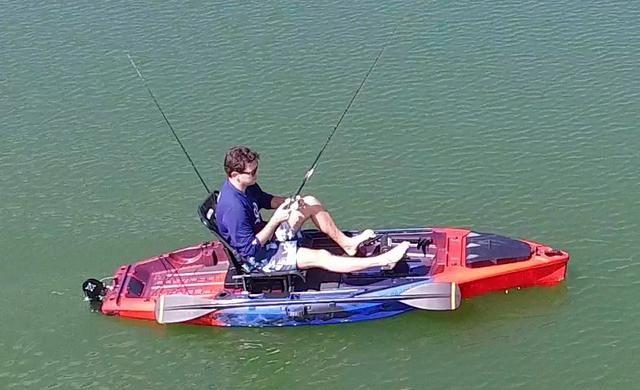 Caiaque pesca gamefish 325 1 lugar Freeport Sports (Semi-novo) pronta entrega
