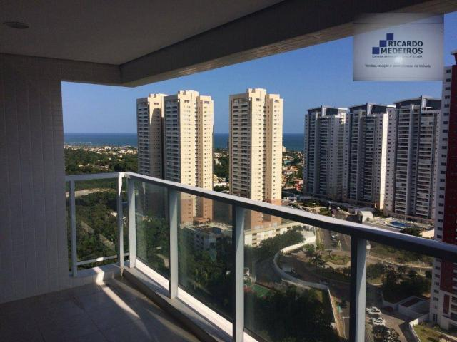 Apartamento residencial à venda, Patamares, Salvador.