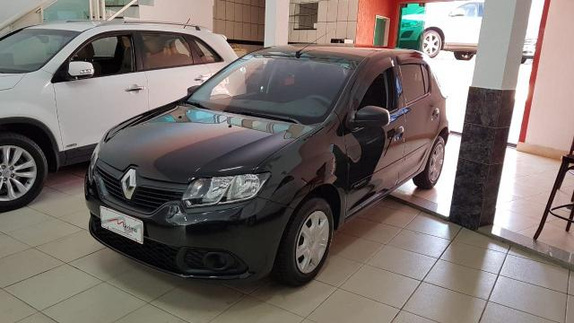 RENAULT SANDERO 2017/2017 1.0 AUTHENTIQUE 16V FLEX 4P MANUAL - Foto 2