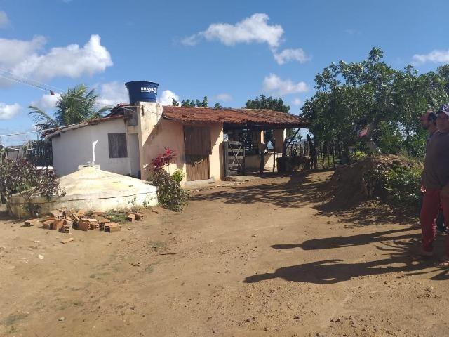 Propriedade de 8 hectares-toda cercada-com 2 casas, a 5 km de Apoti-PE