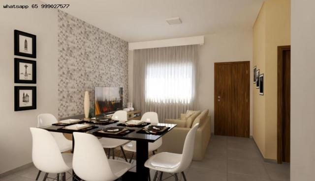 Casa para Venda em Várzea Grande, Nova Fronteira, 2 dormitórios, 1 banheiro, 1 vaga - Foto 7