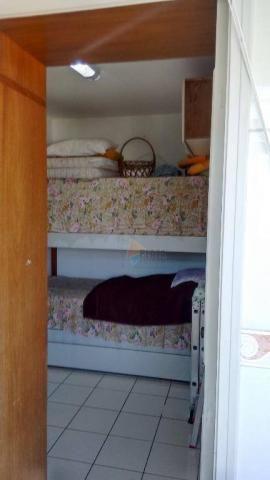 Cobertura com 3 dormitórios para alugar, 256 m² por r$ 5.000/mês - canto do forte - praia  - Foto 17