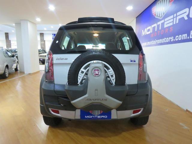 Fiat Idea 1.8 Mpi Adventure 16v Flex 4p Dualogic Automatizado Top de Linha 48.900 Km - Foto 5