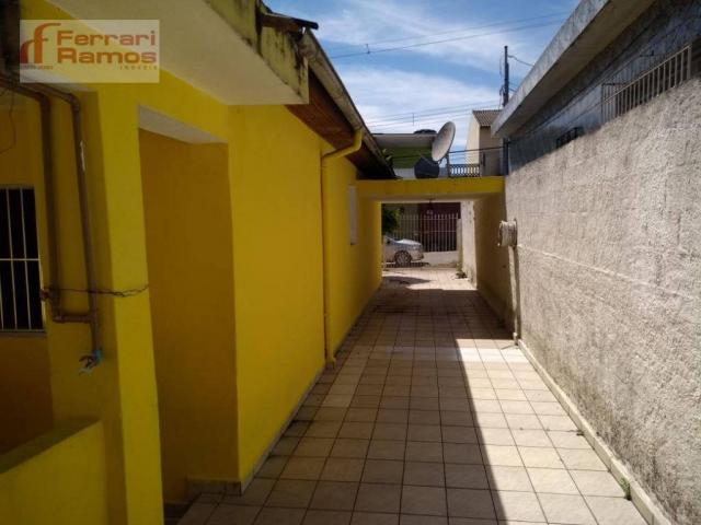 Casa com 3 dormitórios para alugar, 80 m² por r$ 1.350,00/mês - jardim presidente dutra -  - Foto 4