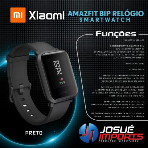 Amazfit Bip Relogio Smartwatch // Lacrado - Novo na Caixa - Foto 3