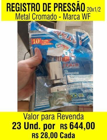 Torneiras, Chuveiro, Registros e Kit para Banheiro - Foto 2