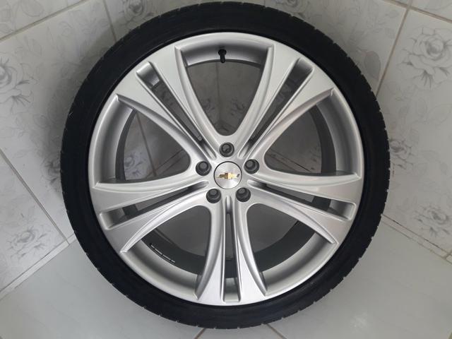 Rodas aro 20 com pneus + molas esportivas do Cruze - Foto 8