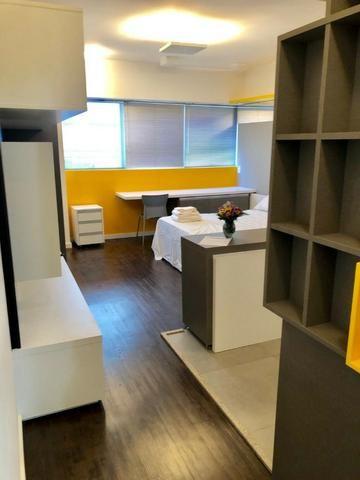Studio Mobiliado c/ vaga de garagem no Ed Neo Superquadra - Foto 3