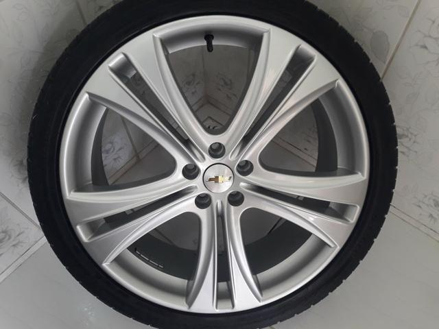 Rodas aro 20 com pneus + molas esportivas do Cruze - Foto 6