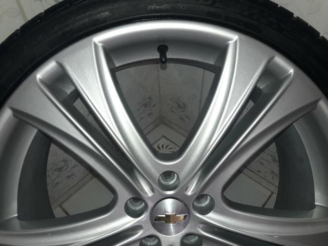 Rodas aro 20 com pneus + molas esportivas do Cruze - Foto 5