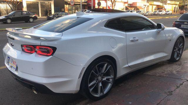 Camaro 2019 SS v8 com 3.800 km placa a na garantia de fábrica novíssimo  - Foto 4