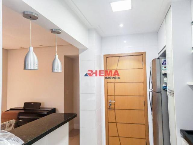 Apartamento com 2 dormitórios à venda, 64 m² por R$ 600.000,00 - José Menino - Santos/SP - Foto 11