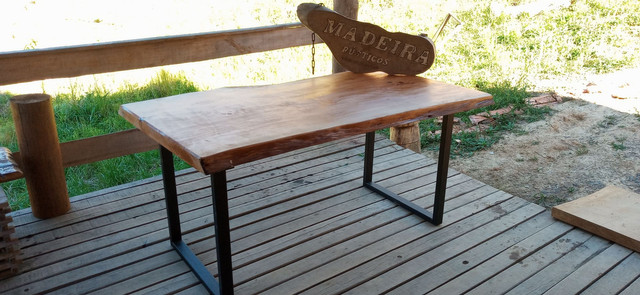 Mesa de jantar rústica - Foto 6