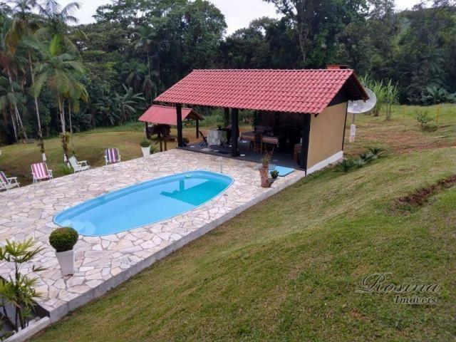 Chácara com 3 dormitórios à venda, 24200 m² por R$ 650.000,00 - Capituva - Morretes/PR