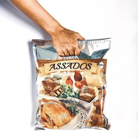 Embalagem Sacola Térmica para Frango Assados e Carnes