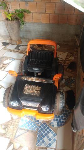 Vendo ou troco por celular jeep elétrico biemme - Foto 4