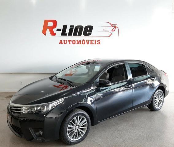 Corolla XEI 2.0 automático/interior claro/baixa km - Foto 2