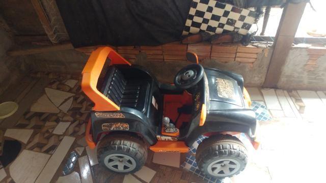 Vendo ou troco por celular jeep elétrico biemme - Foto 2