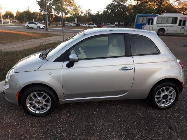 Fiat 500 única dona. 62mil km. Impecável - Foto 2