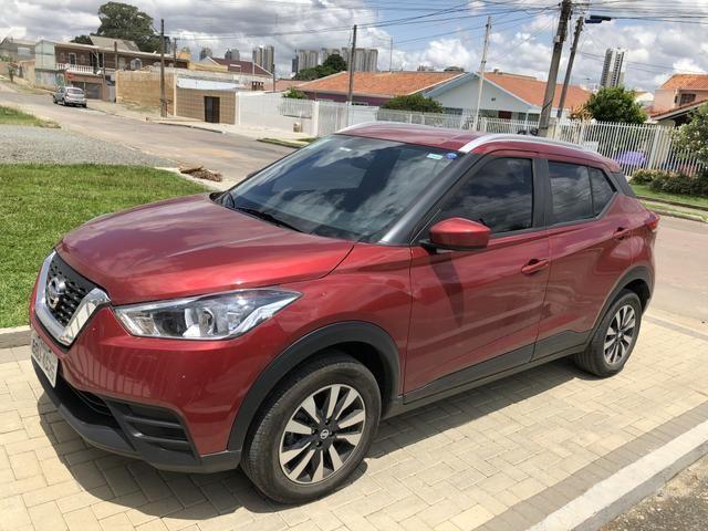 Kicks 2018 1.6 modelo S Flex Vermelho primeiro dono - Foto 6