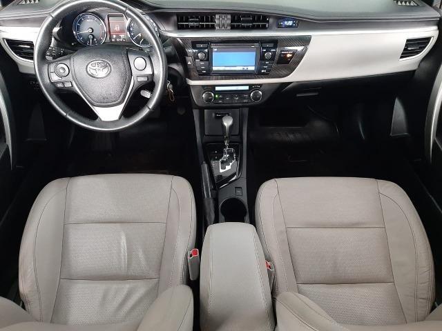Corolla XEI 2.0 automático/interior claro/baixa km - Foto 9