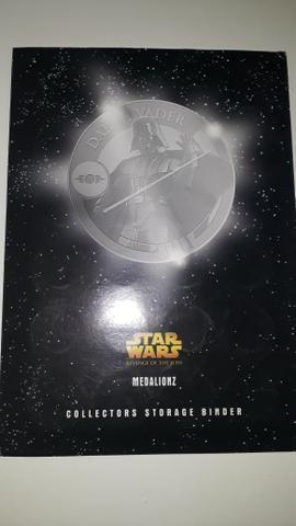 Álbum Star Wars medalhas