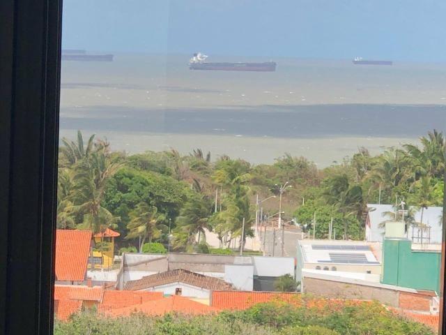Alugo apartamento de 1 quarto, vista mar, - Foto 2