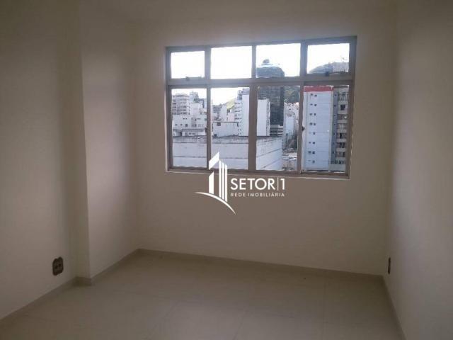 Apartamento com 2 quartos para alugar, 88 m² por R$ 1.120,00/mês - Centro - Juiz de Fora/M - Foto 3