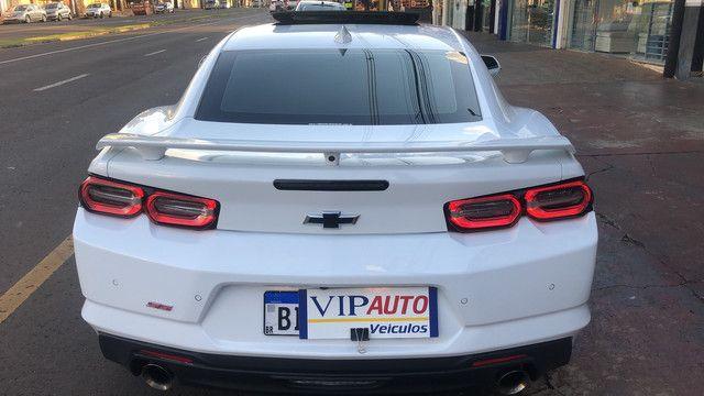 Camaro 2019 SS v8 com 3.800 km placa a na garantia de fábrica novíssimo  - Foto 5