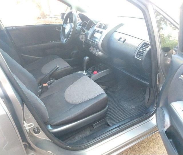 Vendo Honda Fit EX1.5 automático completo!! - Foto 13
