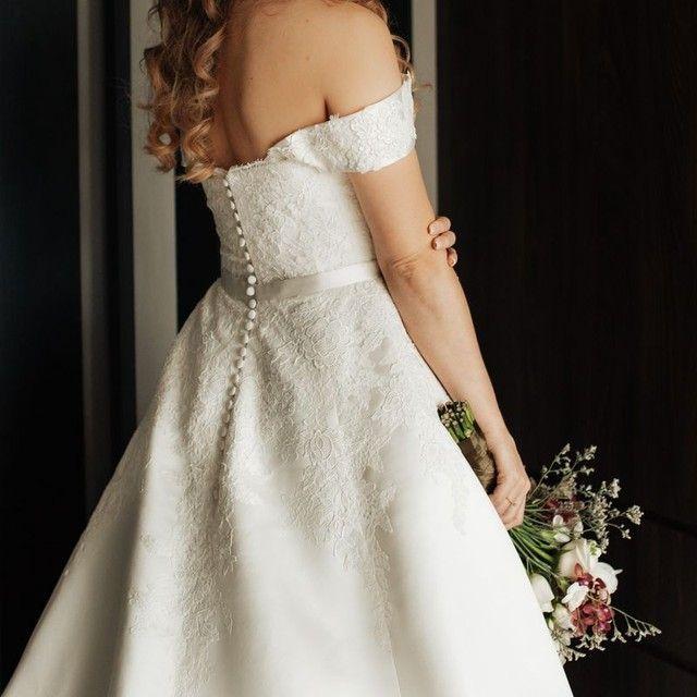 Vestido de noiva - marca espanhola Pronovias! - Foto 5
