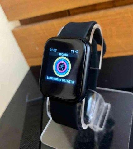 Relógio Smartwatch ThinFit W8 Android e Ios com 2 Pulseiras - Foto 3