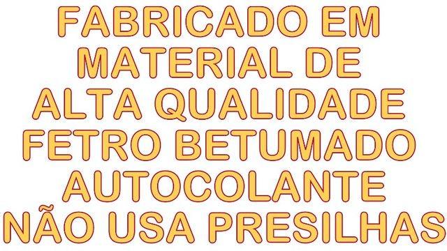 Forro do capo Pajero Full DE 2001 A 2007 Autocolante de facil instalação - Foto 4