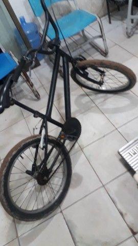 Bicicleta cros toda boa