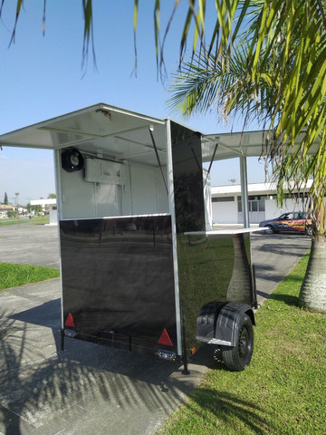 Vendo ou Alugo Trailer Food Truck Lanches - Foto 3