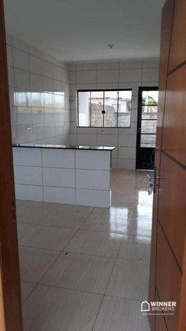 Casa com 2 dormitórios à venda, 57 m² por R$ 140.000,00 - Jardim Primavera - Floresta/PR - Foto 3