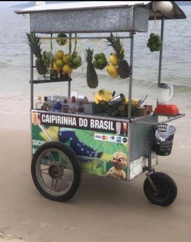 Carrinho coquetel drinks localizado na praia da Daniela - Foto 2