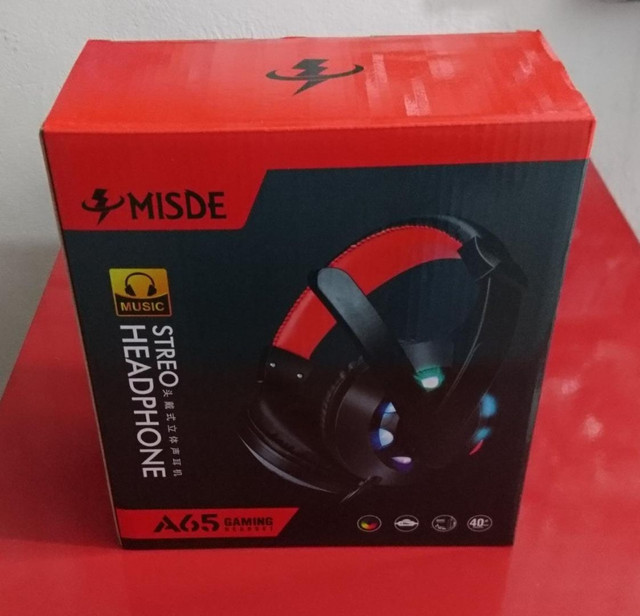 Headset Gamer Misde PS4, PC