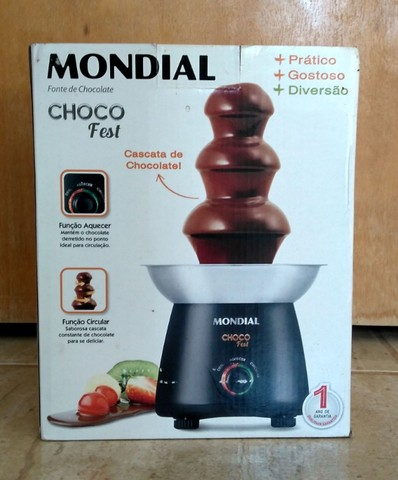 Cascata de chocolate (fonte de chocolate)