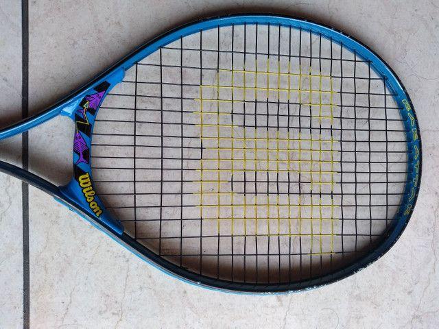 Raquete tênis Wilson Head - 19 fios - Foto 2