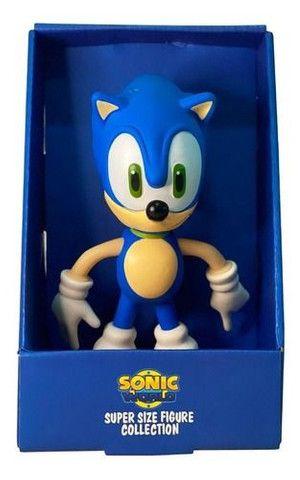 Boneco Sonic Grande 23cm Promoção