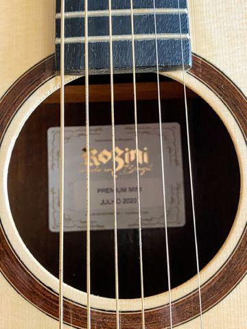 Violão de Aço Rozini Mini RX120ACN - Série Premium  - Foto 5