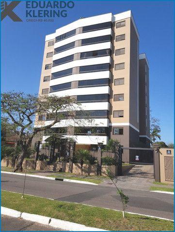 Apartamento com 2 dormitórios, 2 vagas, sacada com churrasqueira, Esteio-RS