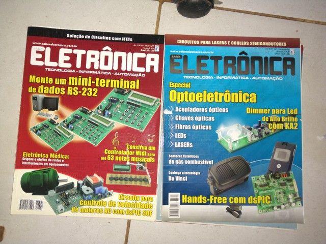 Revistas de eletrônica  - Foto 3