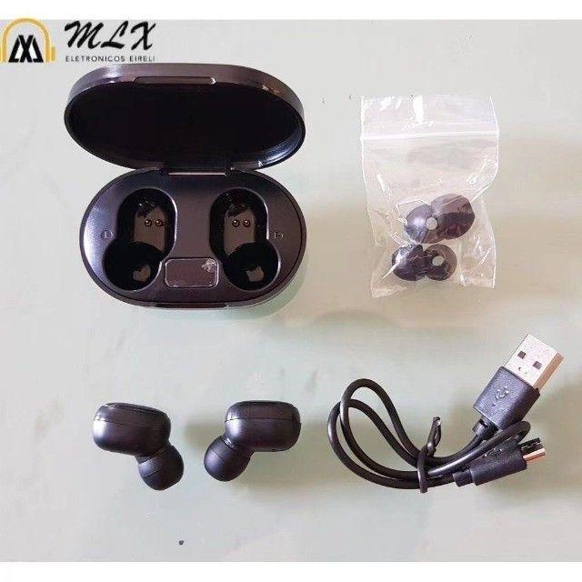 Fone Sem Fio Redmi Airdots Xiaomi TWS Bluetooth Preto - Foto 2