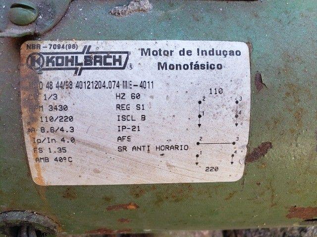 Bomba d'água 1/3 cv monofásico - Foto 3
