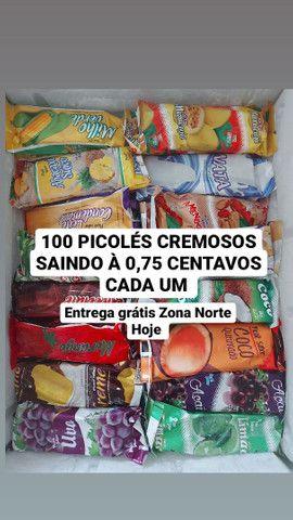 100 PICOLÉS POR APENAS 0,75 CENTAVOS CADA UM