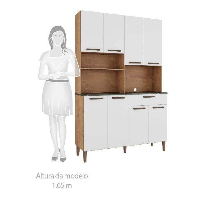Armário de Cozinha Tannat 8 Portas - Foto 3