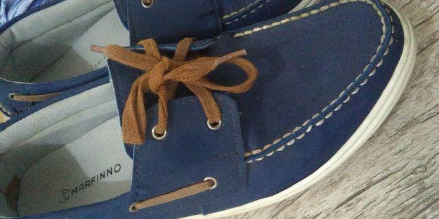 Sapato masculino tamanho 39 semi novo - Foto 3