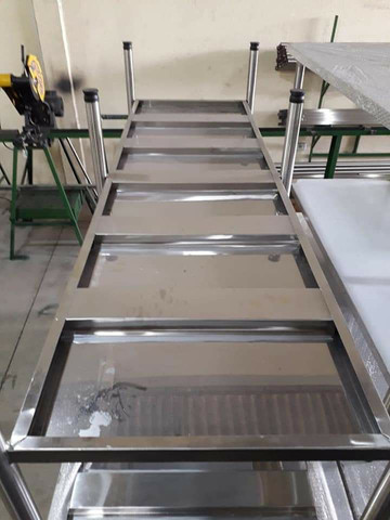 Bancadas de Inox 1.90 x 70 x 90 altura  - Foto 5